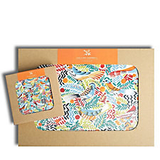 Collier Campbell Set of 4 Placemats & 4 Coasters