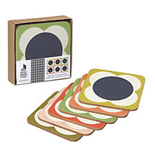 Orla Kiely 6 Piece Coaster Set