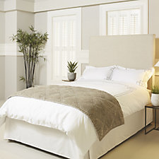 K by Kelly Hoppen Diamond Quilted Bed Runner