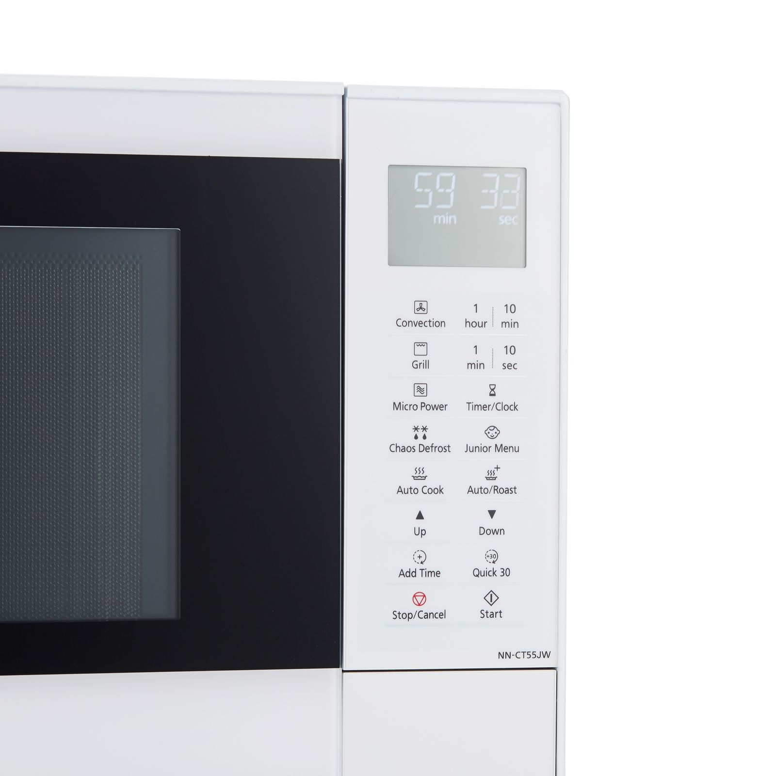Panasonic CT55 27L 1000W Combi Microwave Convection Oven & Grill - QVC UK