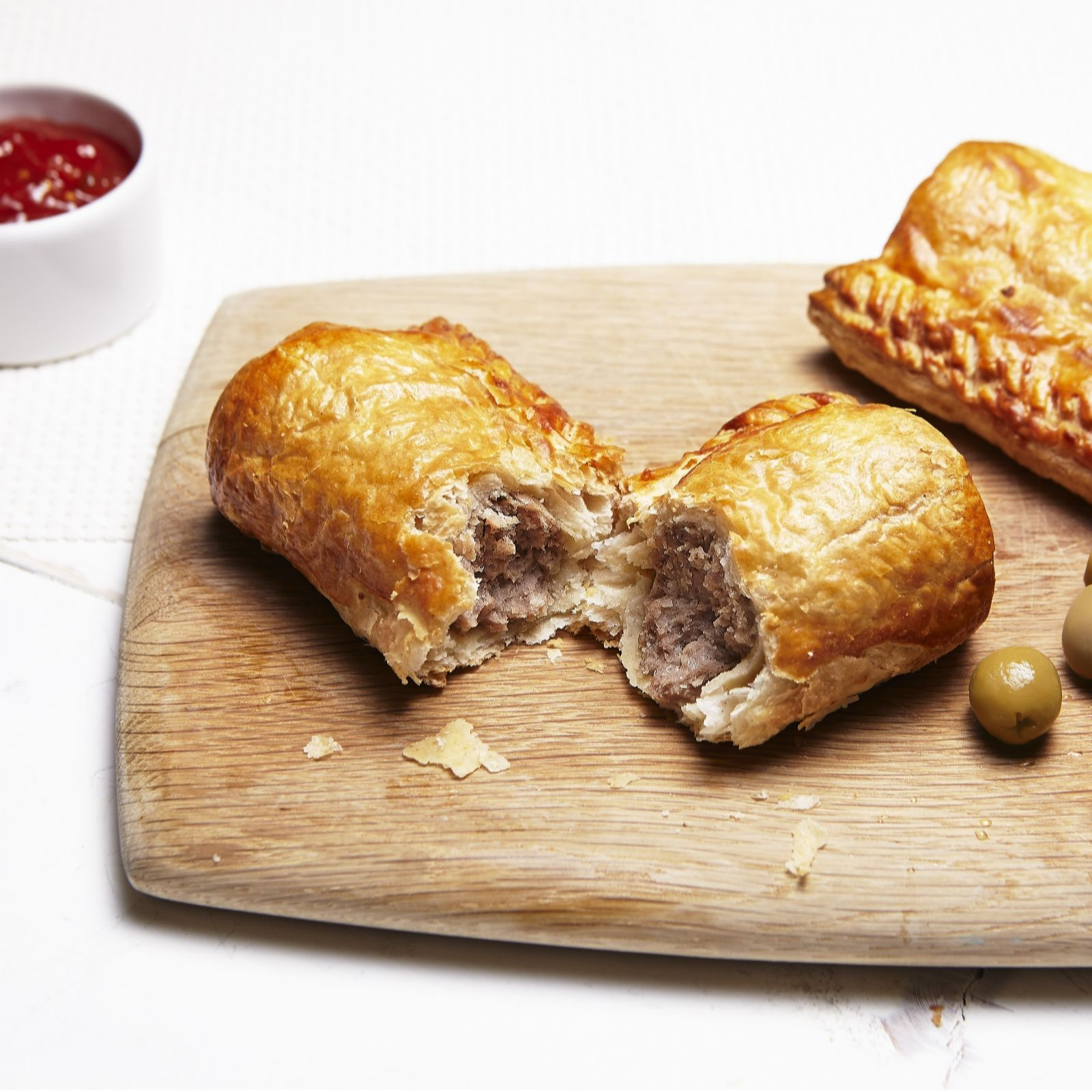 The Real Pie Company 12 Piece Sausage Roll Selection - QVC UK