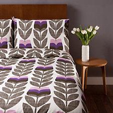 Orla Kiely Scribble Rosebud Duvet Cover & 2 Pillowcases