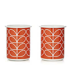 Orla Kiely Set of 2 Enamel Tumblers