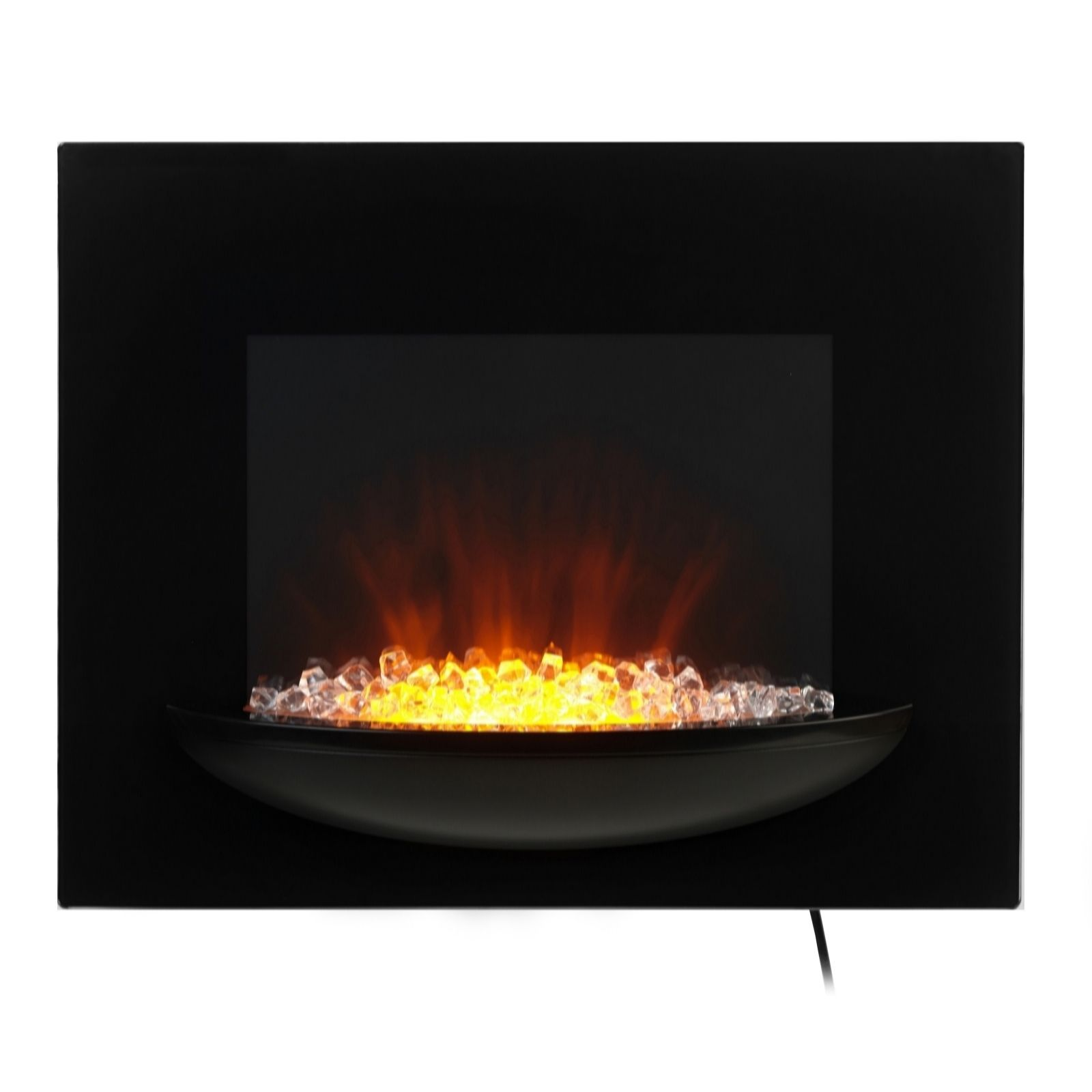 631342d8457 Beldray Attica LED Colour Changing Electric Wall Fire with Bowl - QVC UK