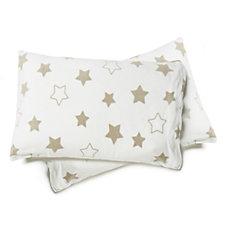 Cozee Home Star Print Fleece Duvet Set with Deep Fitted Sheet