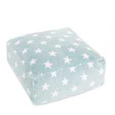 Cozee Home Star Print Plush Floor Cushion