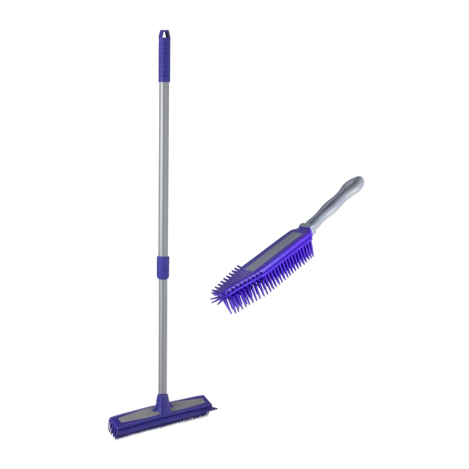 Lakeland Rubber Buddy Brush Amp Broom Set Qvc Uk