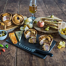 Toppings Pies 8 Piece Speciality Pork Pies