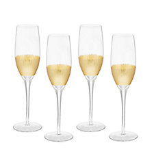 JM by Julien Macdonald Miami Set of 4 Champagne Flutes