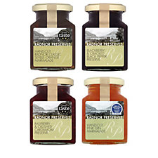 Radnor Preserves Set of 4 Assorted Fruit Preserves