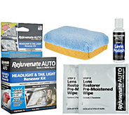 Rejuvenate Auto Headlight & Tail Light Renewer Kit - V35002