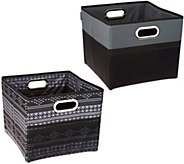 As Is High Road Set of 2 Cargo Cube Trunk Storage Bins - V127403