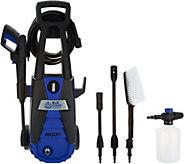 Blue Clean 1600 PSI Pressure Washer w/ Soap Foamer - V35405