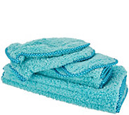 Set of 10 Puppy Fur Microfiber Towels & Mitts by Campanelli - V35705