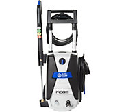 Blue Clean 1900 PSI Pressure Washer w/ 4 Spray Nozzles - V35410