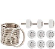 KeyCatch 9-Piece Magnetic & Sticky Key Hangers Set - V35810