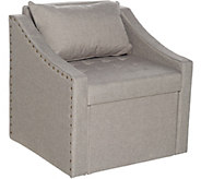 Fresh Home Elements Accent Chair with Storage Seat - V35611