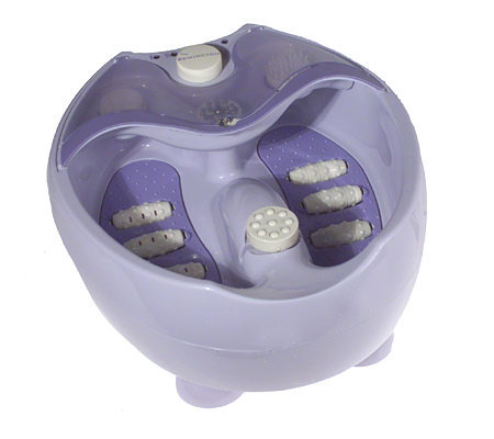 Remington Acupressure Foot Spa w/ Pedicure Center — QVC.com