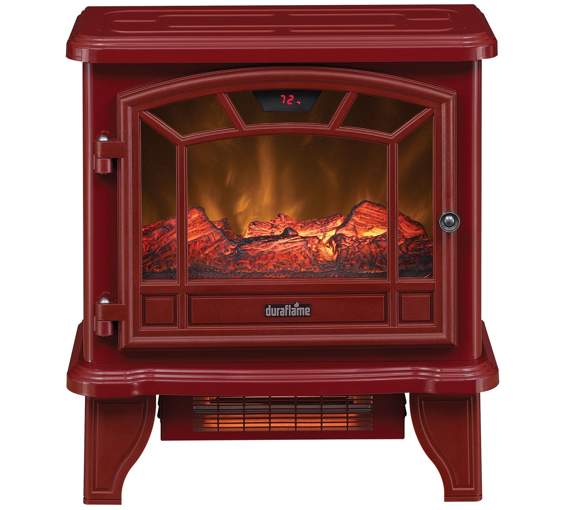 Duraflame Infrared Stove Heater With Remote Control Page
