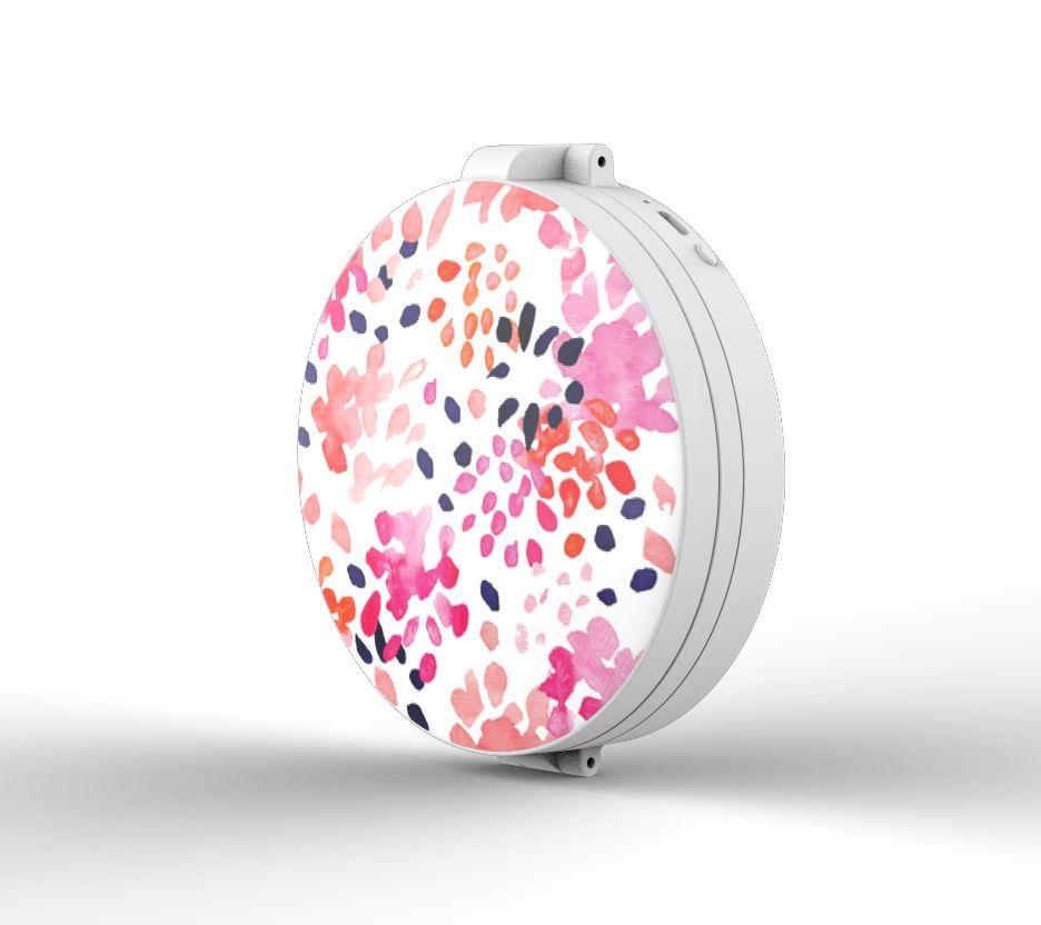 Blushly Tri Fold Led 1x 5x 10x Magnification Compact Mirror Qvc Com