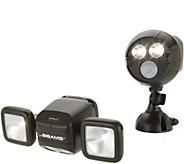 Mr Beams NetBright Set of 2 Motion Sensor Security Lights - V35815