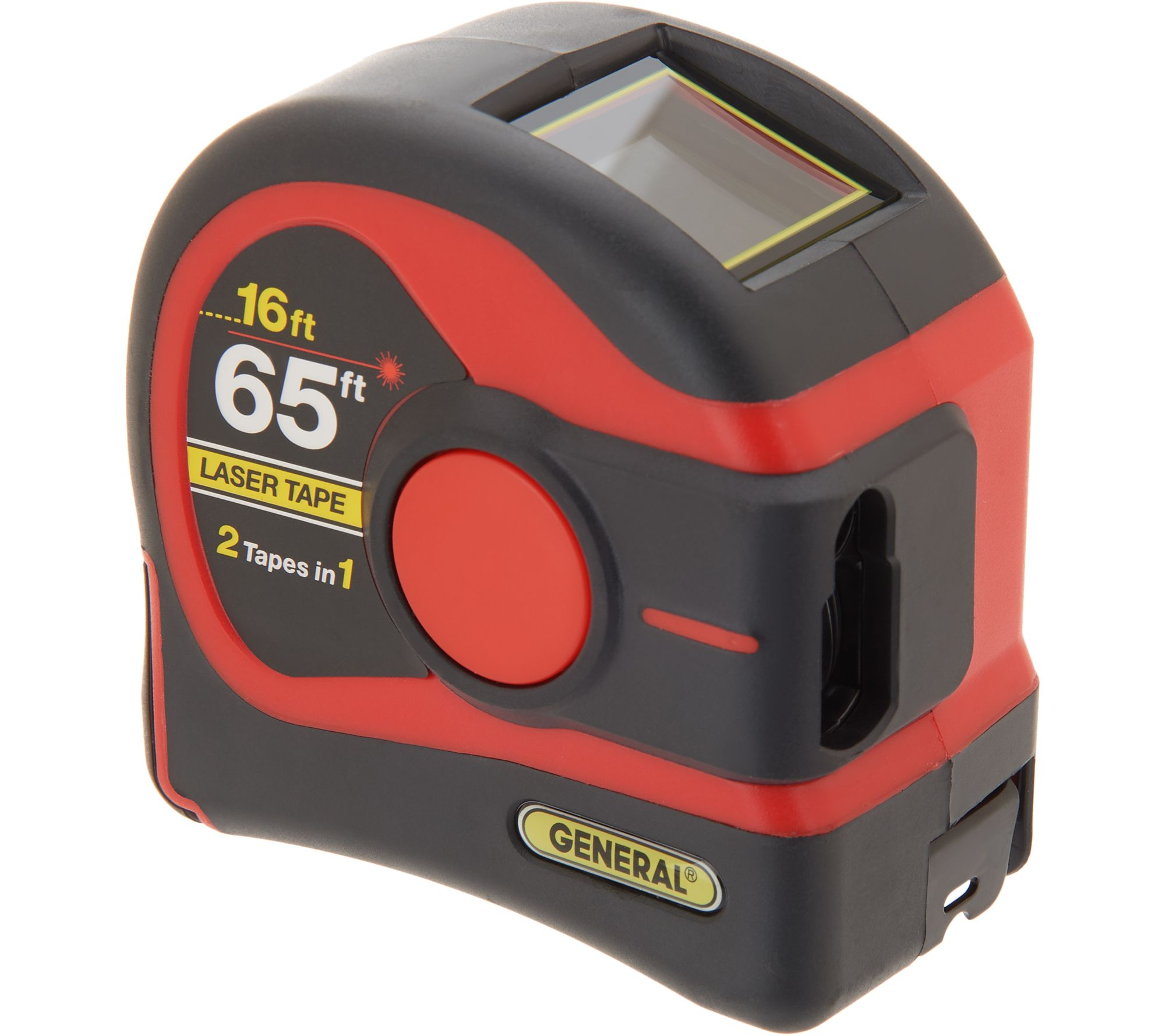 3d455fdaade2e General Tools 2-in-1 65-ft Laser Tape Measure w  Digital Display - Page 1 —  QVC.com