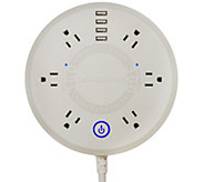 ChargeHub PowerStation with 6 Outlets & 4 USB Ports - V35318