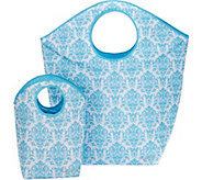 Pursfection Set of 2 XL and Small Multi-Purpose Totes - V35421