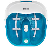 HoMedics Bubble Spa Pro Foot Bath with Heat Boost Power - V119725