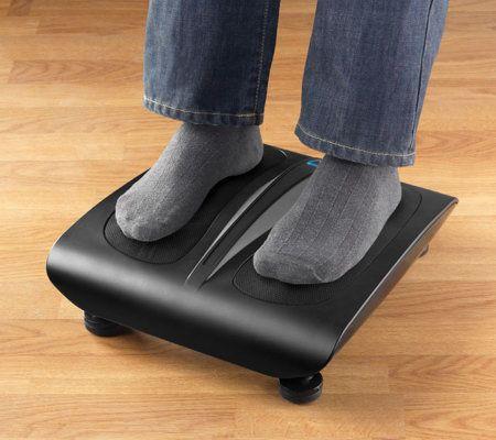 Sharper Image Deluxe Shiatsu Foot Massager W Heat Page 1 Qvccom