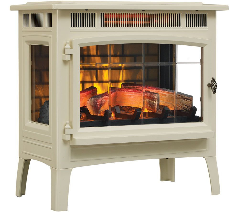 Duraflame Infrared Quartz Stove Heater With 3d Flame Effect Remote