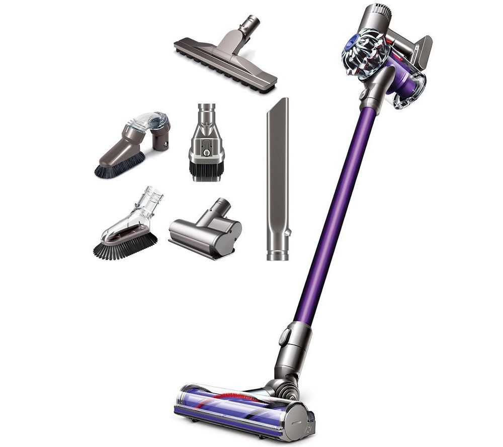 Image of: Dyson Dc59 Dyson V6 Animal Cordfree Vacuum With Tools Attachments Page Qvccom Qvccom Dyson V6 Animal Cordfree Vacuum With Tools Attachments Page