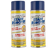 Set of 2 15-oz Aerosol Professional Stain Removers by Campanelli - V35530