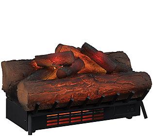 Duraflame Infrared Quartz Log Set Heater w/ 3DFlame & Remote