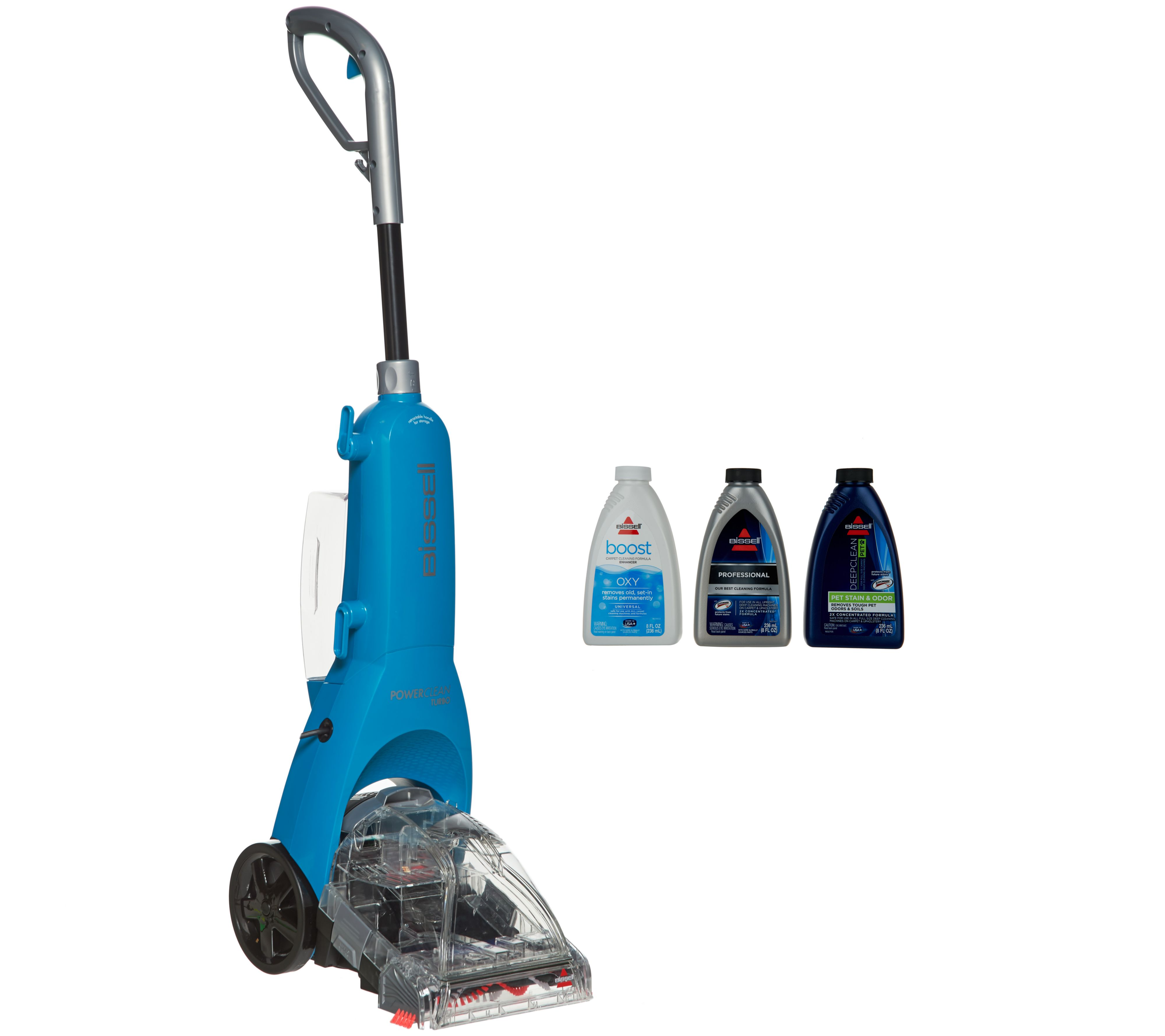 Bissell PowerClean Turbo Deep Clean Carpet & Rug Cleaner - Page 1 — QVC.com