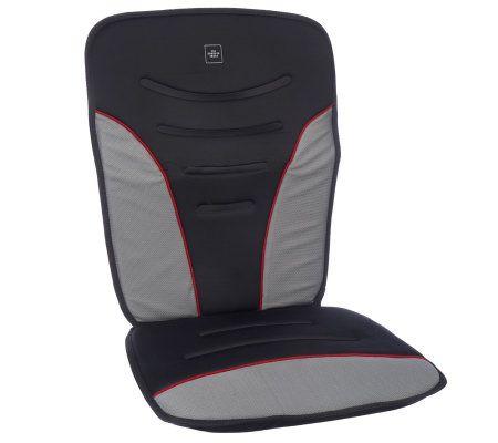 Sharper Image 12V Heated Auto Seat Cushion With Shut Off