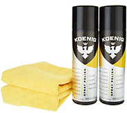 Koenig Set of 2 Indoor/Outdoor Home & Auto Spray Polish - V34735