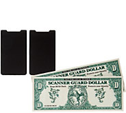 Set of 2 Cell Phone Card Holders w/ 2 Wallet Protectors - V34438