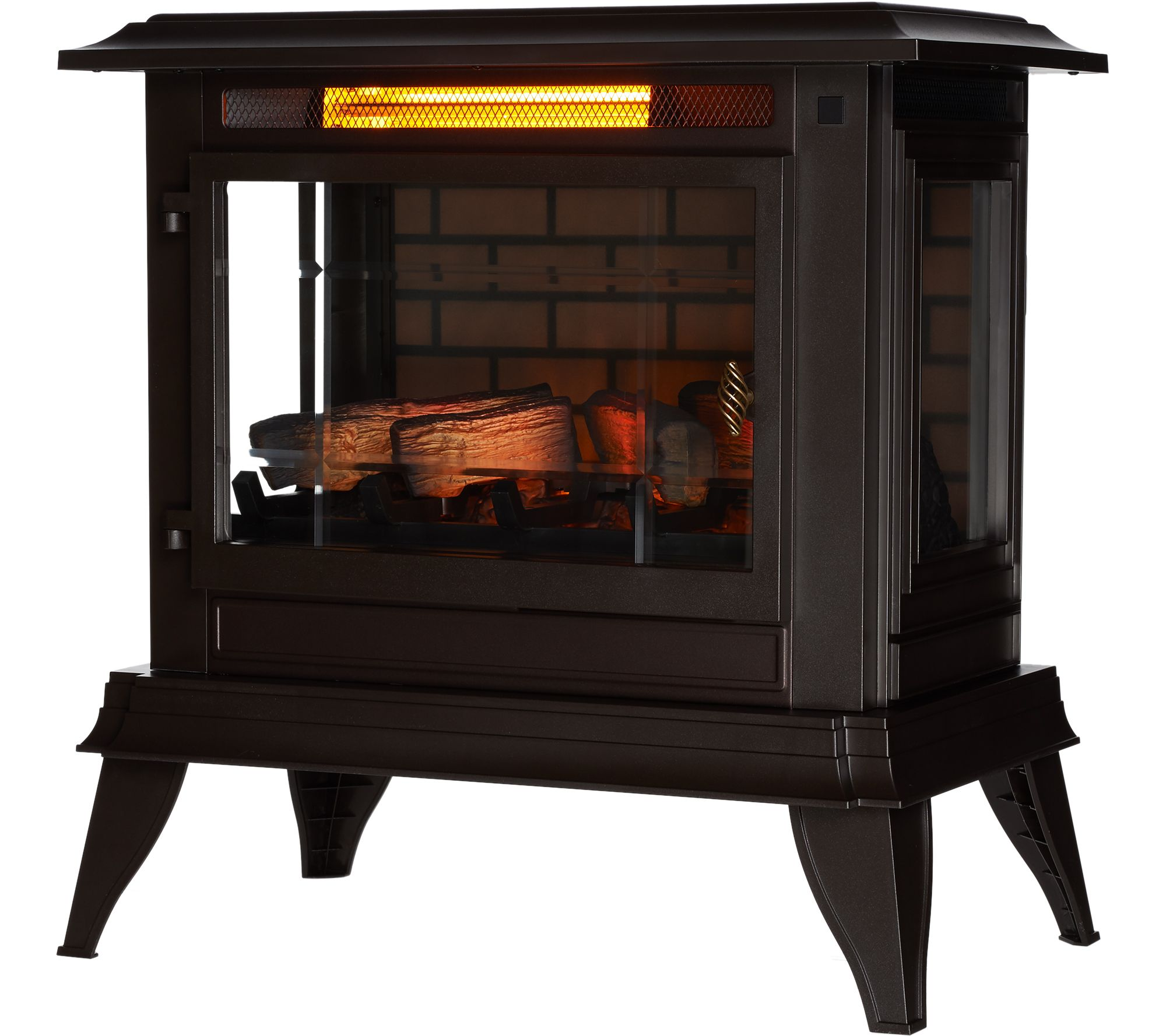 Duraflame Large Infragen Stove Heater With 3d Flame Remote Control Rocket Diagram Oven Fireplace Earthen Pint Page 1