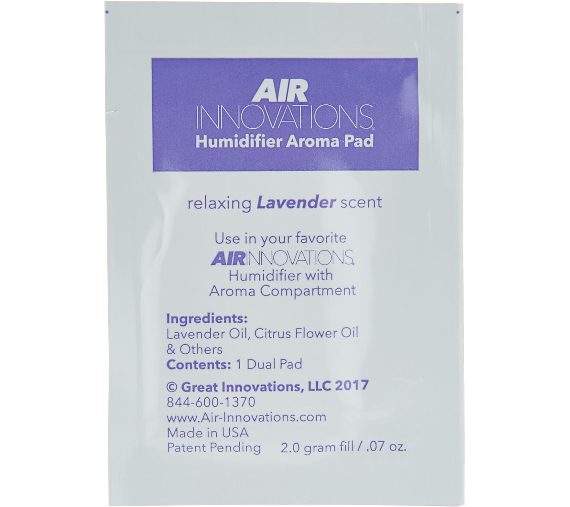 Air Innovations 12 Pack Essential Oil Humidifier Aroma Pads Page 1