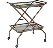 Pop-It Collapsible What - A- Cart with Wheels and Trays - V35442