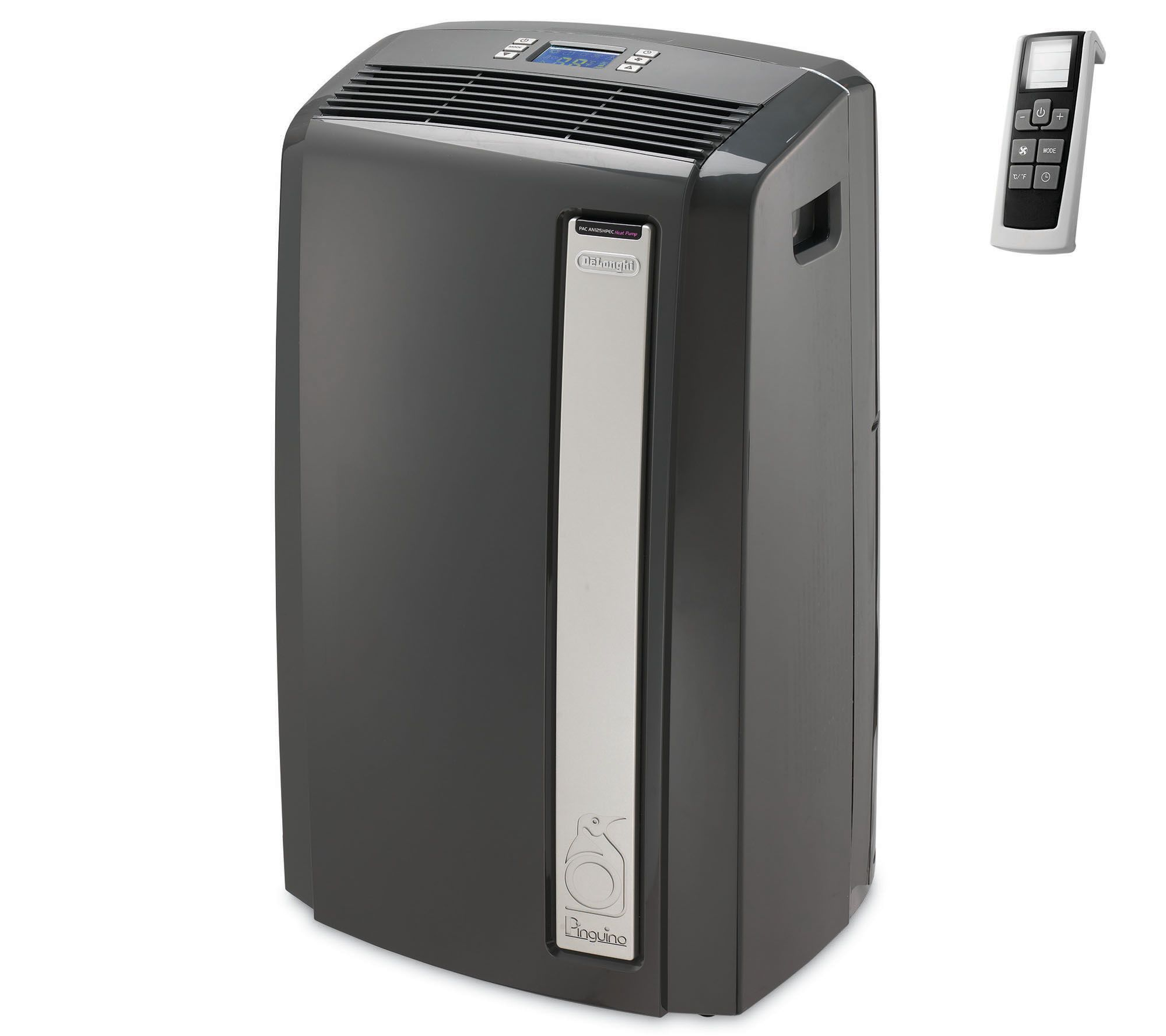 DeLonghi 4-in-1 480 sq. ft. Portable Air Conditioner with Heat - Page 1 —  QVC.com