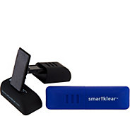 SmartKlear Set of 2 Portable Device Cleaners by CarbonKlean - V35245