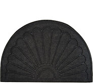 Aqua Hog Indoor/Outdoor 2x3 Sunburst Door Mat with Rubber Backing - V35546