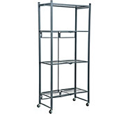 Oasis 4-Tier Heavy Duty Folding Storage Rack - V35247