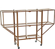 Oasis 3-Tier Heavy Duty Rack with Expandable Side Shelving - V35248