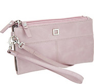 LODIS Italian Leather Wristlet and Crossbody w/ RFID Protection - V33351