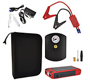 QueBoost 41,000mWh Jump Starter with Air Compressor - V33851
