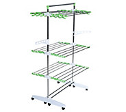The Green Rack Ultra III Foldable Drying/Storage System - V35251