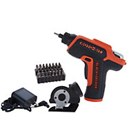 Black & Decker Roto-Bit 4V Max Screwdriver w/ Cutter Head Attachment - V35253